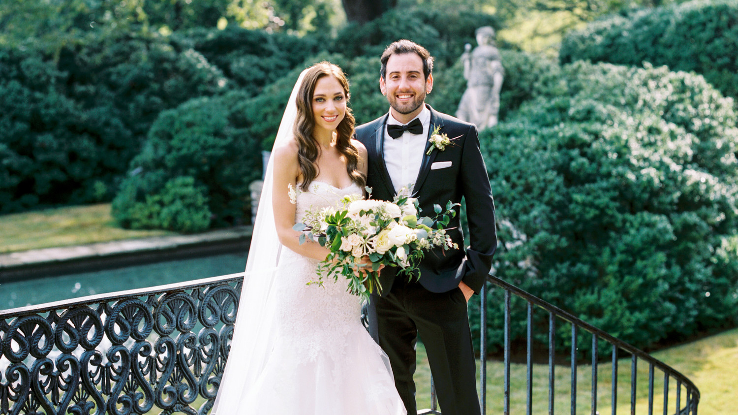 Martha Stewart Weddings: Jackie And Ross's Elegant Nashville Wedding With A