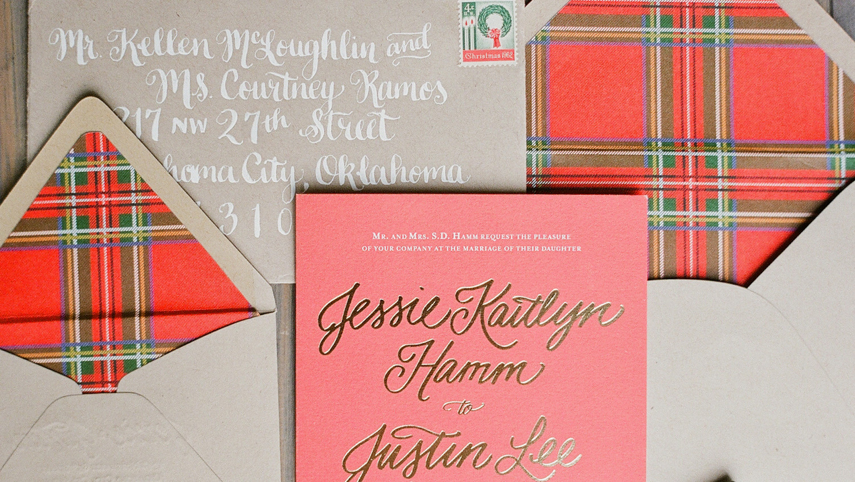 8 Plaid Wedding Ideas That Are Cozy and Chic | Martha Stewart Weddings