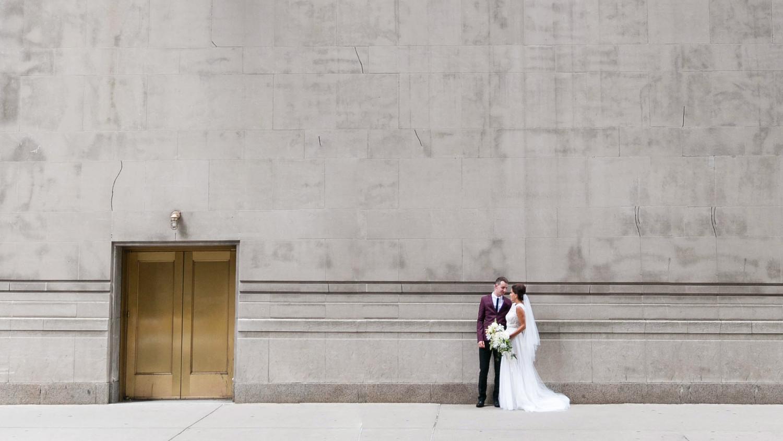 Go Inside This Chicago Speakeasy Wedding   Martha Stewart Weddings