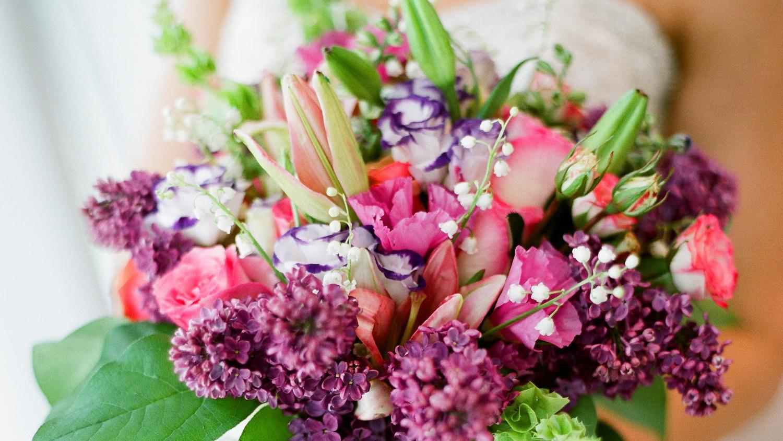 Purple Wedding Bouquets | Martha Stewart Weddings