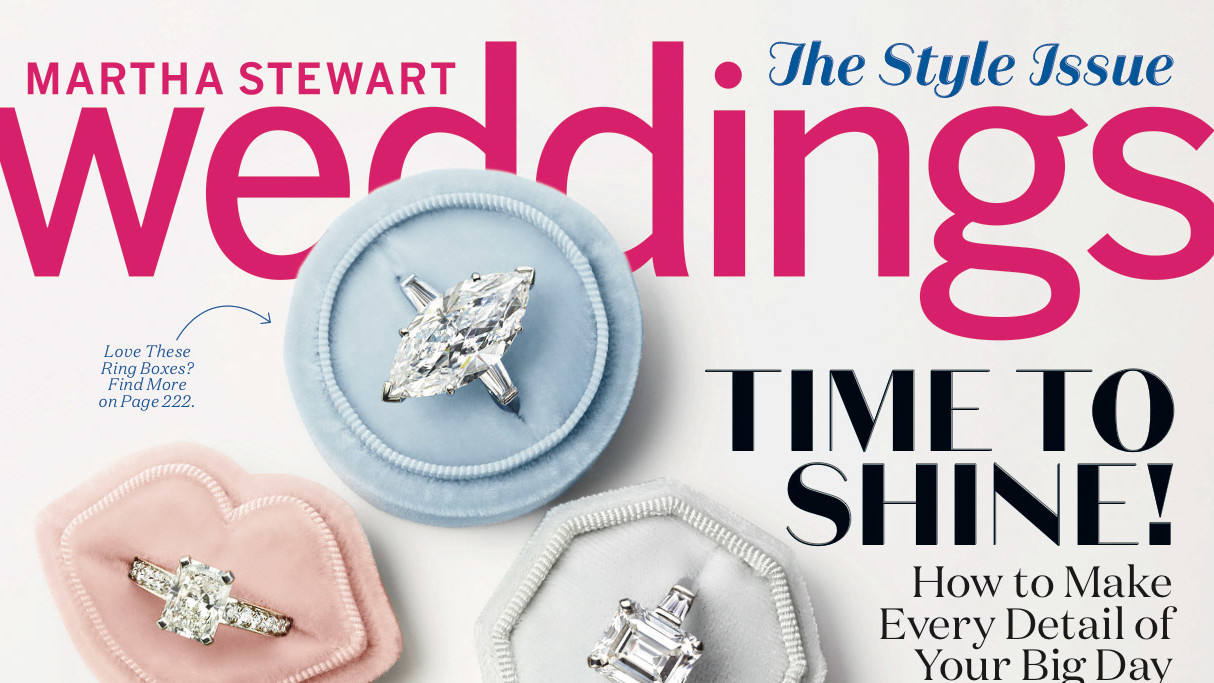 Get a Sneak Peek at Our BrandNew Fall Issue Martha Stewart Weddings