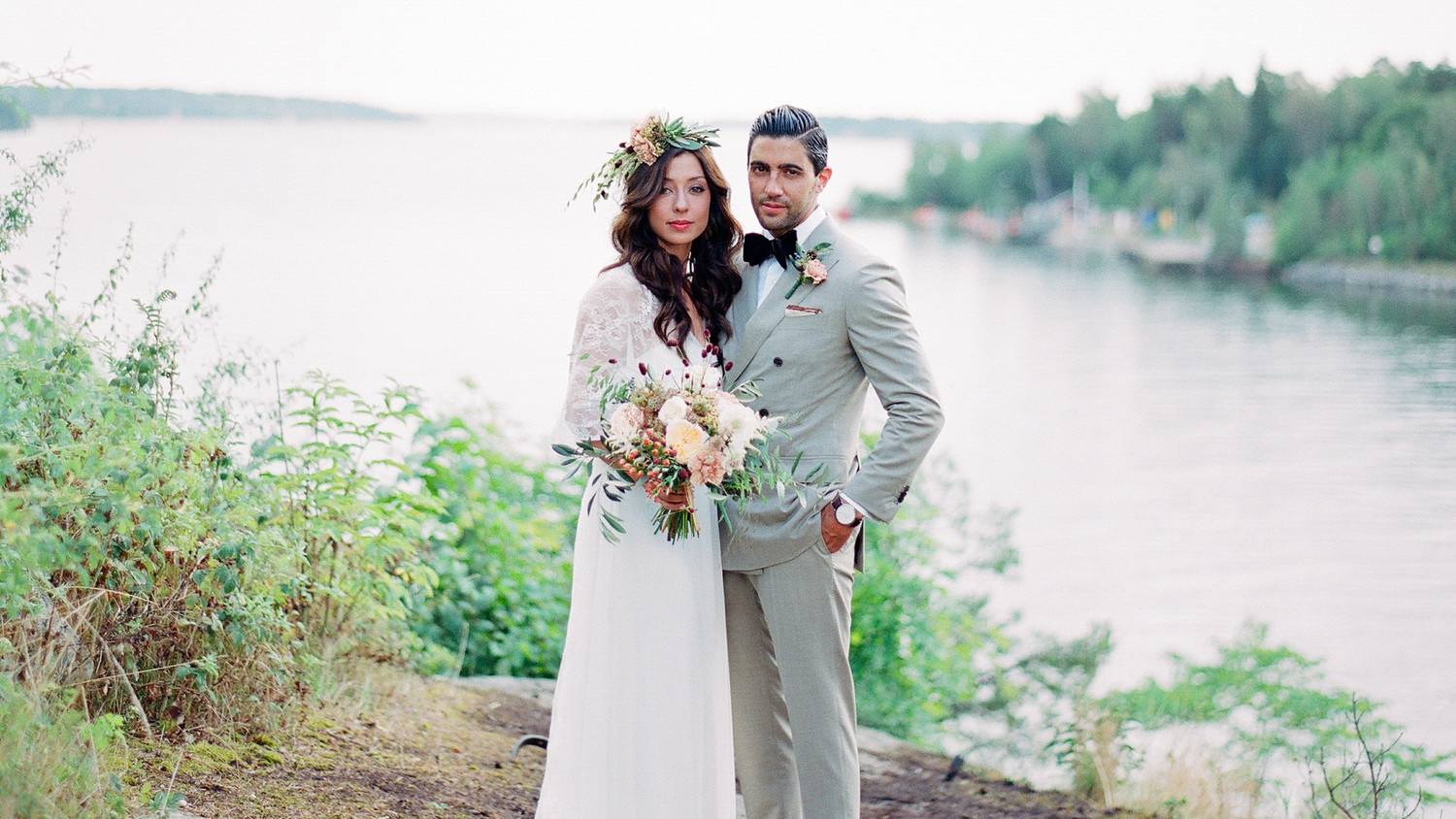 Negin and Chris\'s Multicultural Boho-Chic Wedding in Stockholm ...