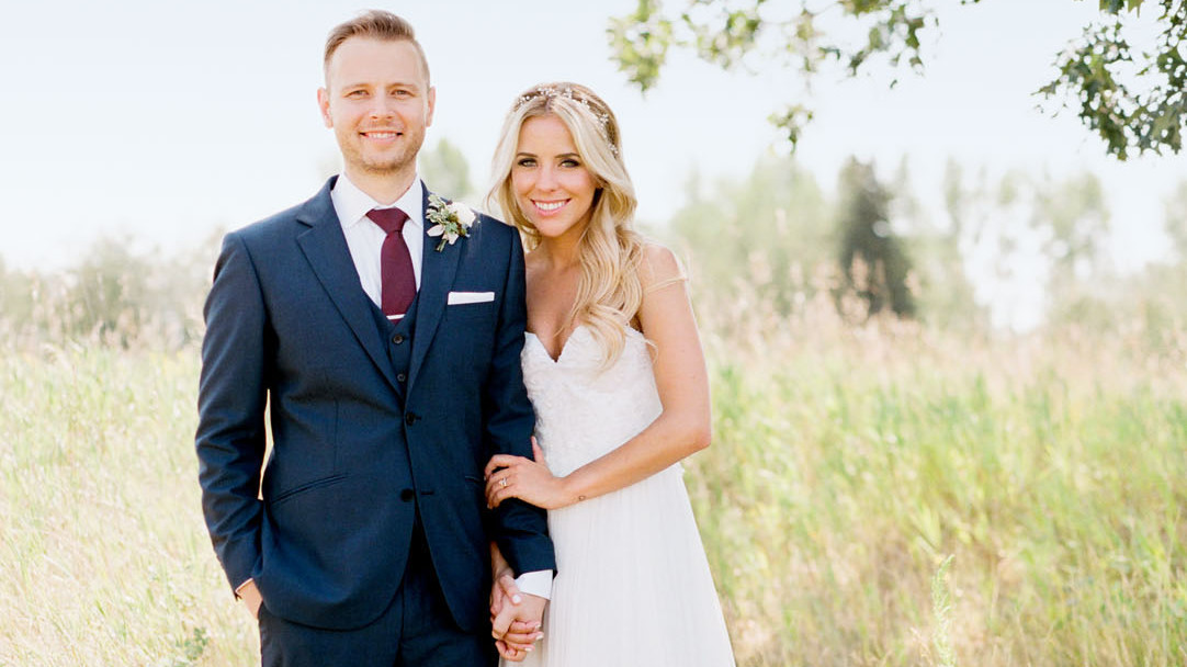 This Beautiful Wedding In Canada Featured One Epic Cake