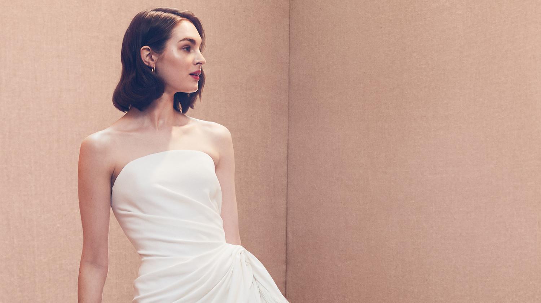 05b1585eed4d Chic Short Wedding Dresses   Martha Stewart Weddings