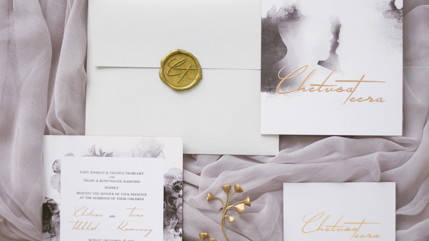 Wax Seals For Wedding Invitations: Gorgeous Wedding Invitations With Wax Seals