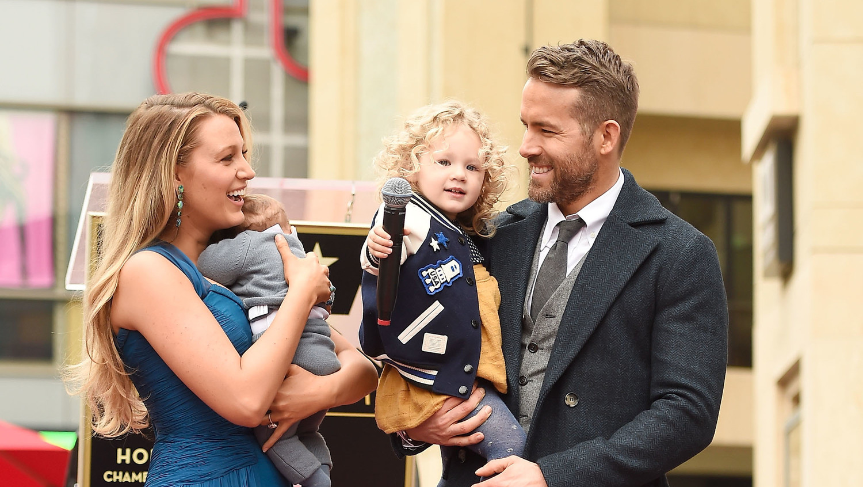 Ryan Reynolds Blake Lively S Kids Just Made Their First Public Earance Martha Weddings
