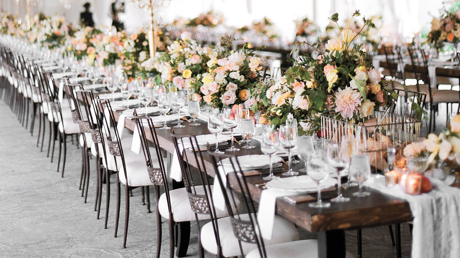 how to decorate wedding reception tables 47 hanging wedding d 233 cor ideas martha stewart weddings 4923