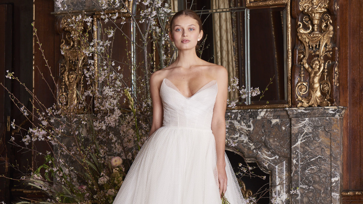 Monique Lhuillier Spring 2019 Wedding Dress Collection