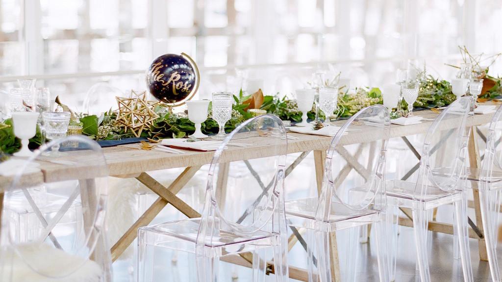 A Modern White Wedding Ceremony: Martha Stewart Weddings