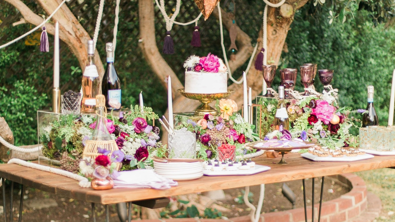 Youll Want To Pin Every Detail Of This Boho Chic Bachelorette Party