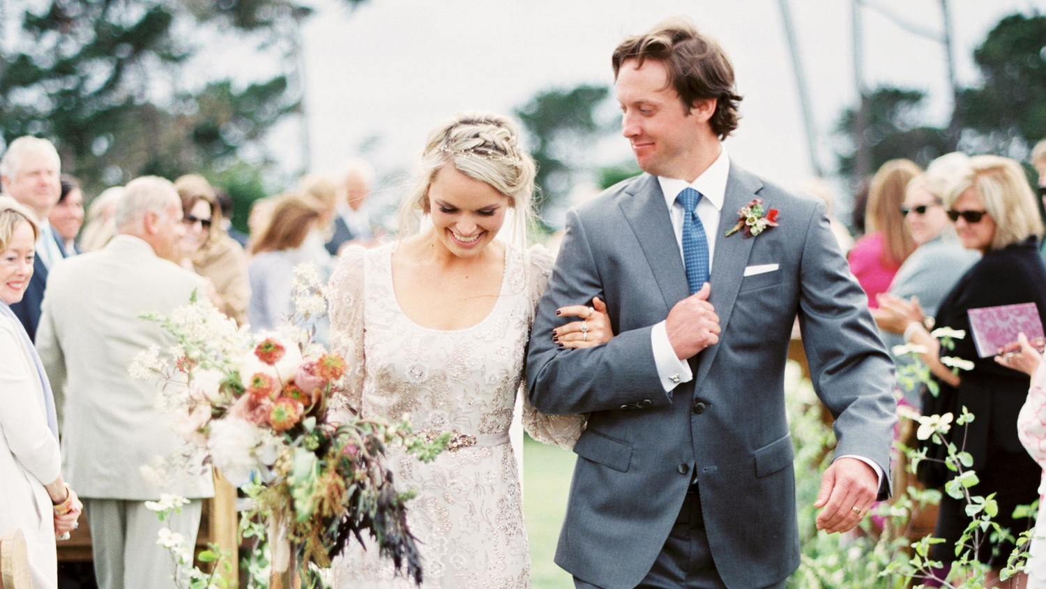 Martha Stewart Weddings: An Old-World Inspired California Wedding