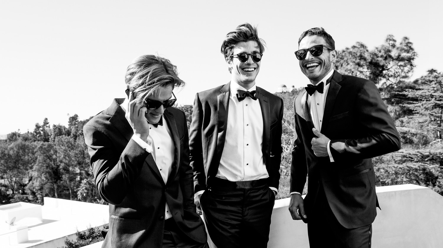 a479005a223 Tux Rental Service for Grooms and Groomsmen Helps Men Suit Up for a Wedding  Online