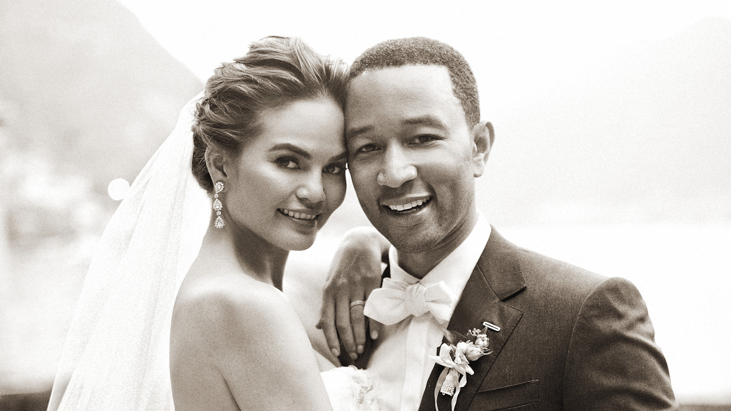 Exclusive: Chrissy Teigen And John Legend's Formal