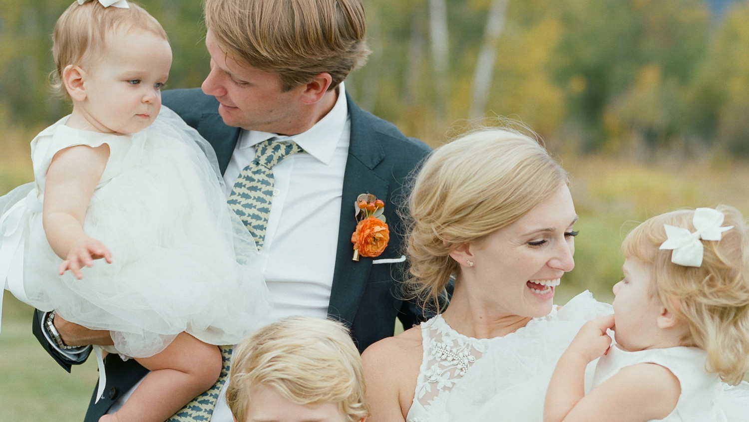 Martha Stewart Weddings: The Etiquette Of Having Children At Your Wedding