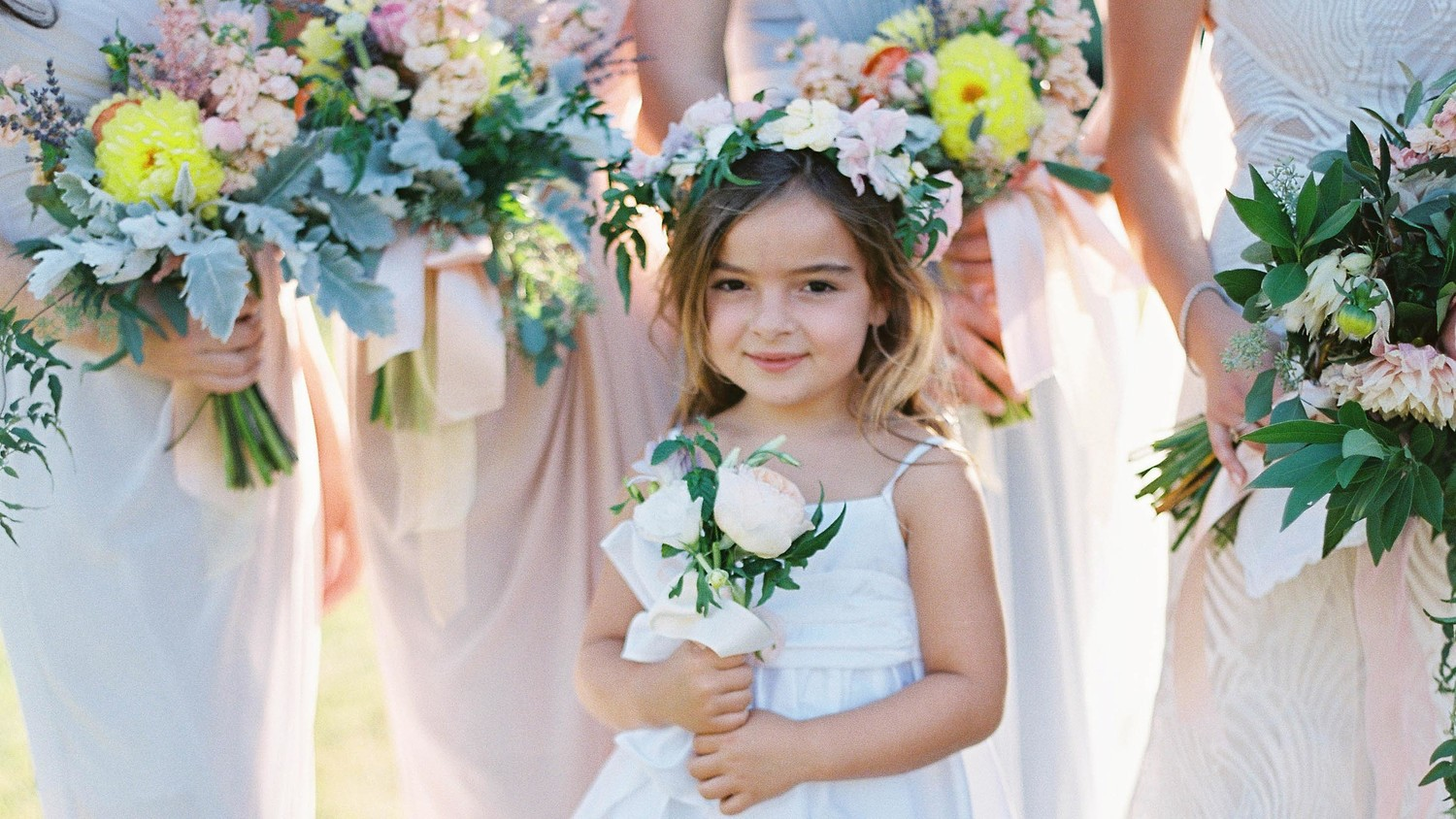 6 Tips for Choosing a Flower Girl Dress | Martha Stewart Weddings