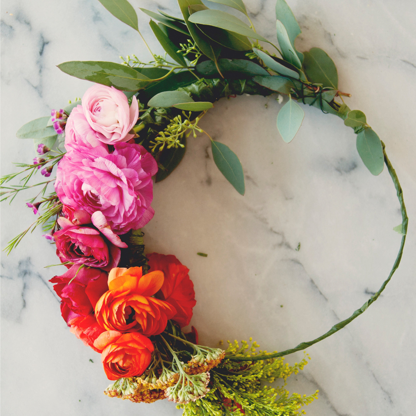 Flower Crown Martha Stewart Weddings