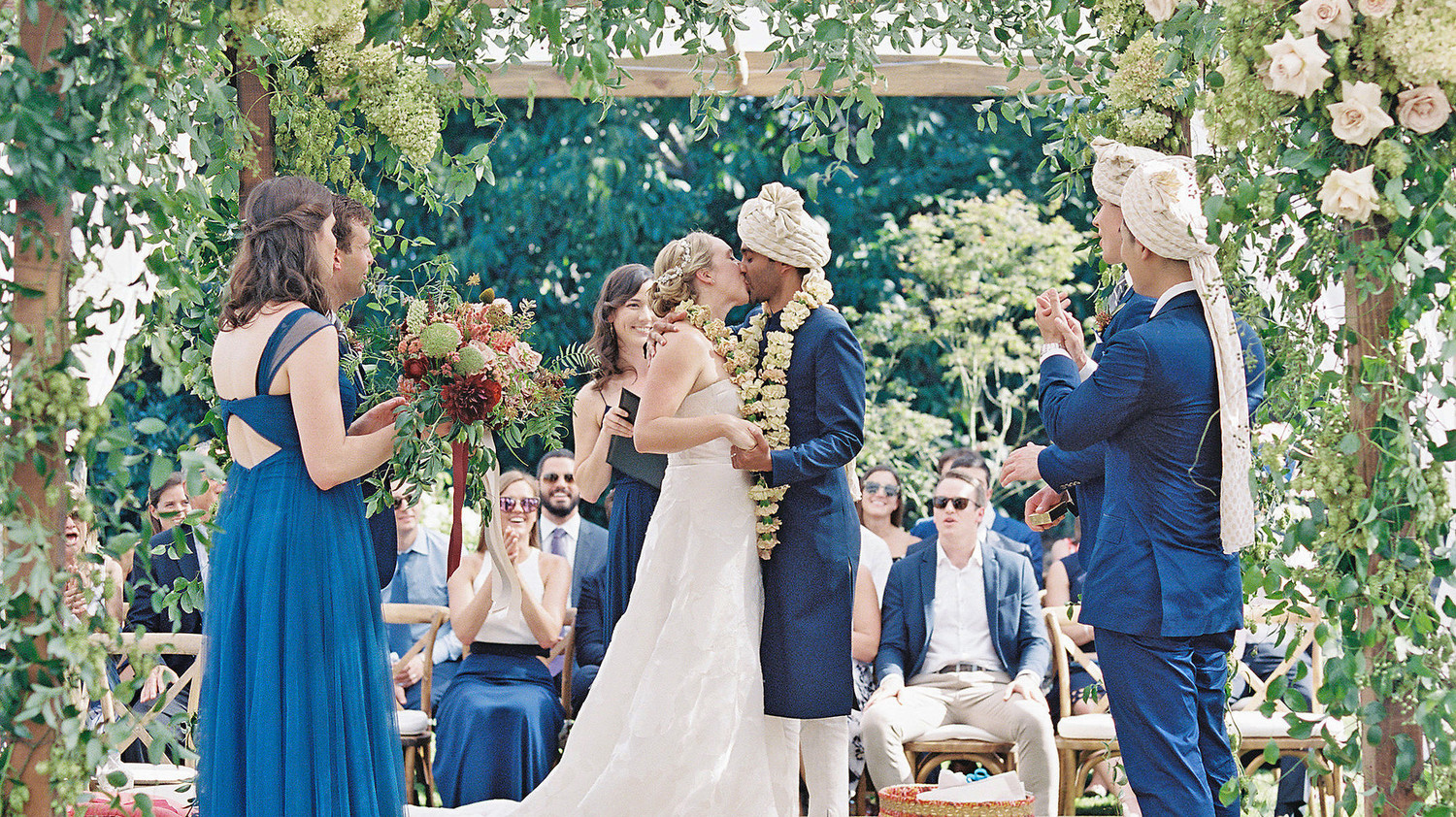 Martha Stewart Weddings: A Foodie Couple's Dinner Party-Inspired Wedding In Napa