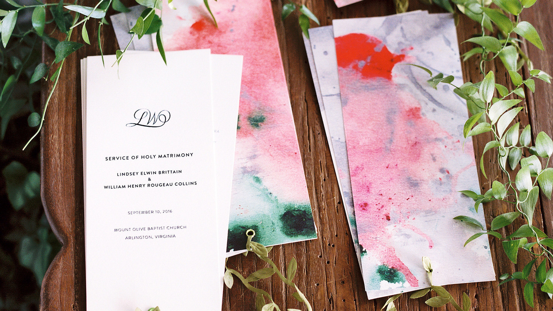 Are Wedding Ceremony Programs Really Necessary?   Martha Stewart ...