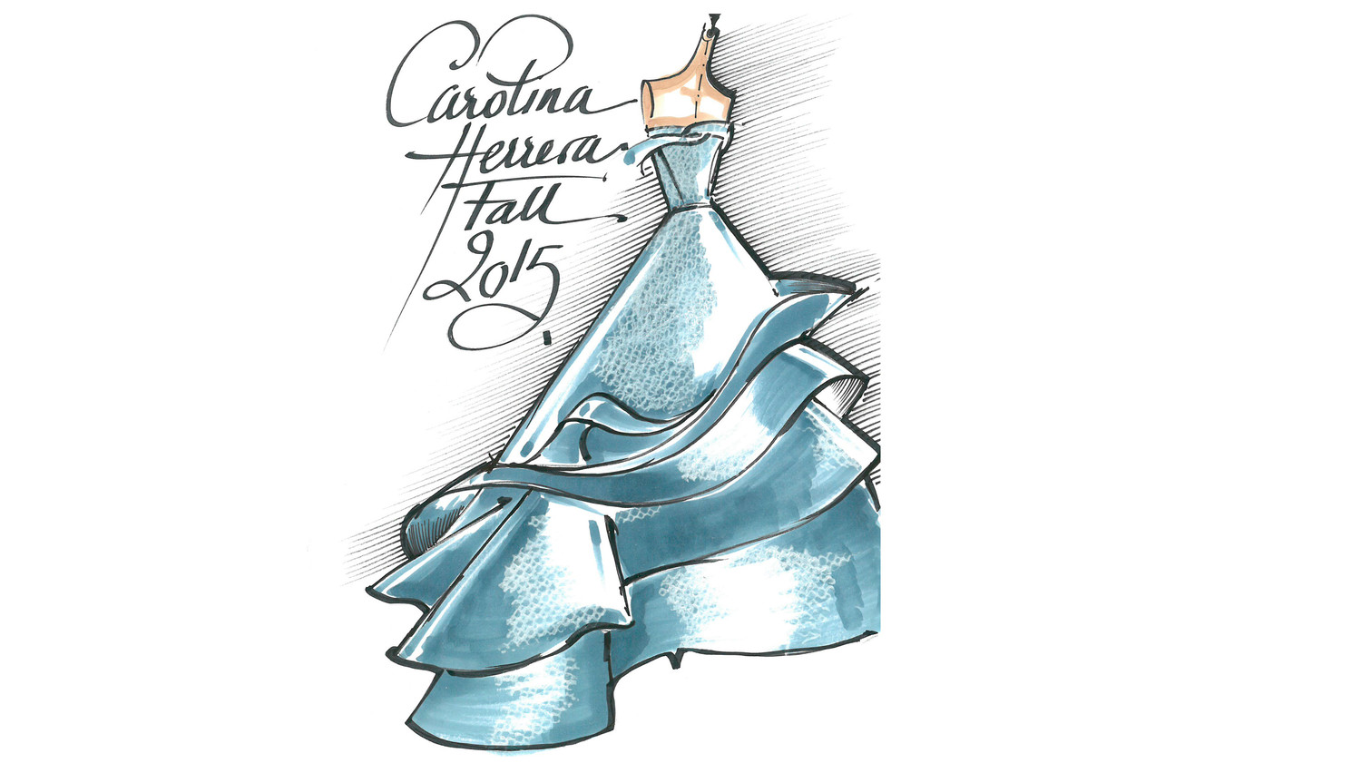 From Sketch to Reality: A Look at Sofia Vergara\'s Fall 2015 Cover ...
