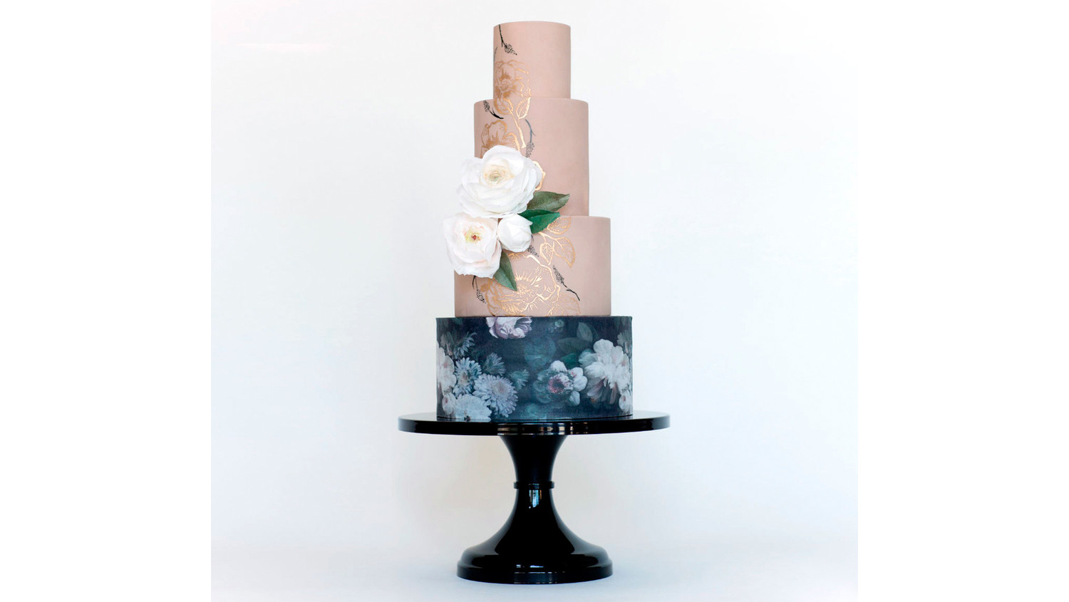 black wedding cake stands 19 cake stands for every wedding martha stewart weddings 11886