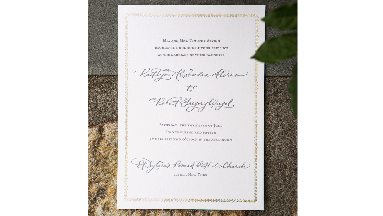 Addressing common wedding invitation wording conundrums martha stewart weddings for Wedding invitations wording martha stewart
