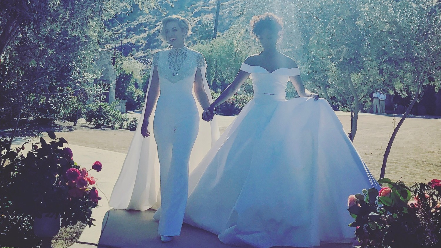 exclusive  get a closer look at samira wiley and lauren