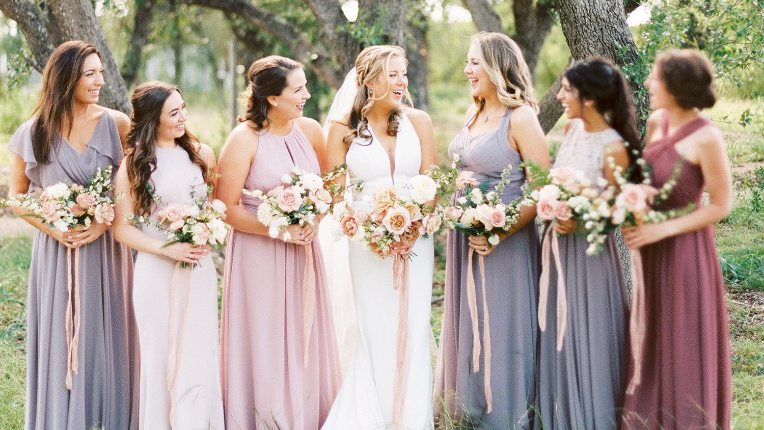 0fe7b26949 These Will Be the Most Popular Bridesmaids  Dress Colors in 2019 ...