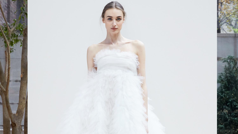 Oscar De La Renta Spring 2018 Wedding Dress Collection Martha