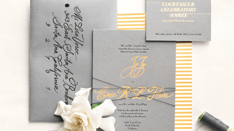34 Unexpected Winter Wedding Invitations   Martha Stewart Weddings