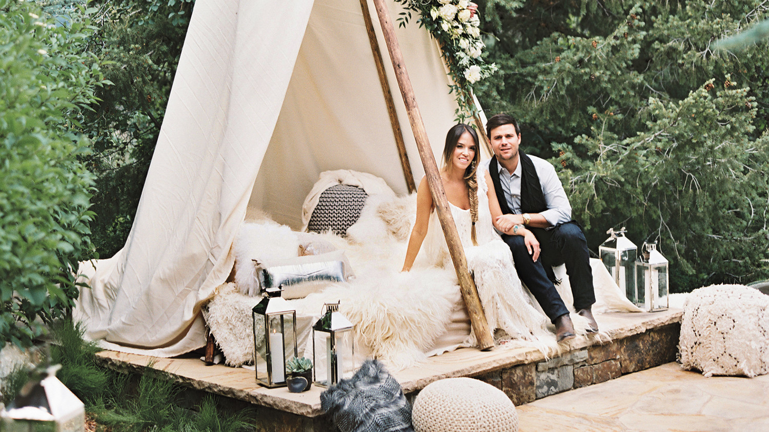 This Welcome Party Will Give You Major Boho Wedding
