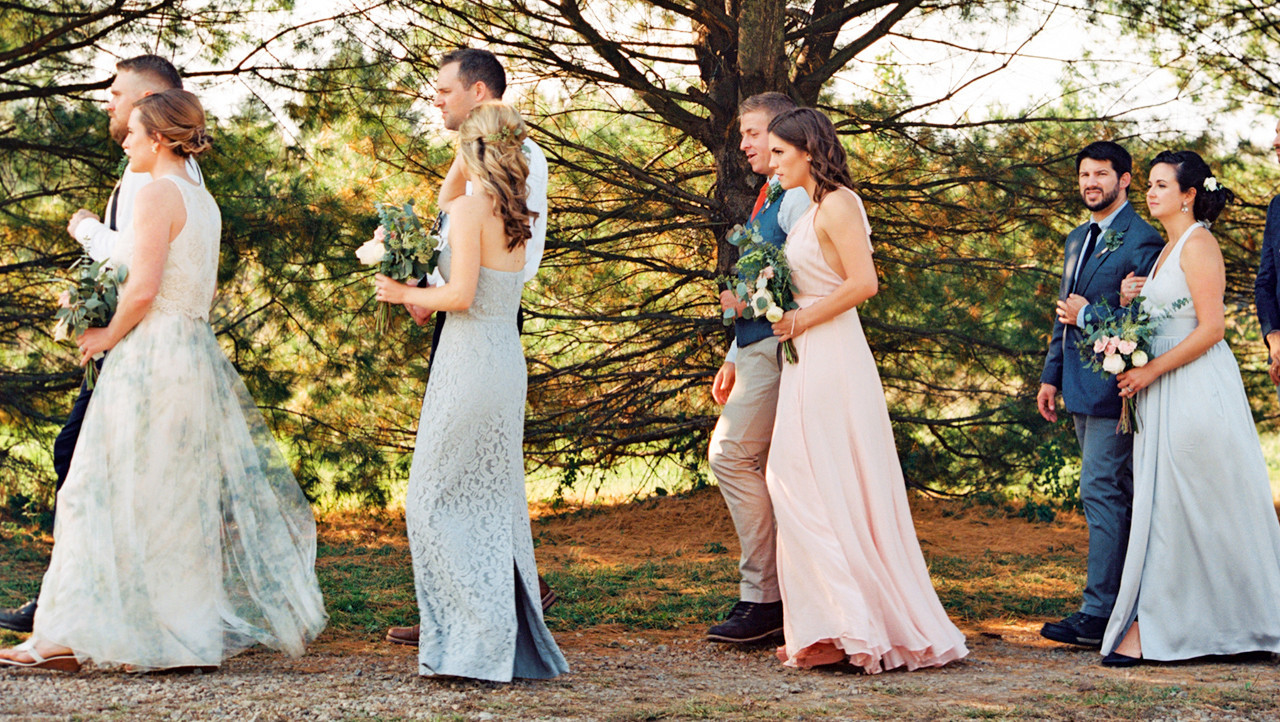 How to choose the perfect processional music martha stewart weddings junglespirit Image collections