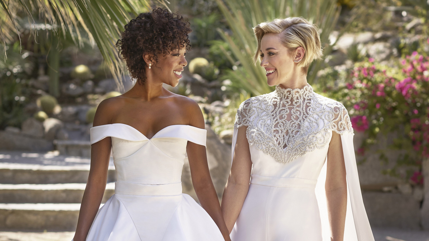 Exclusive Samira Wiley And Lauren Morelli Are Married