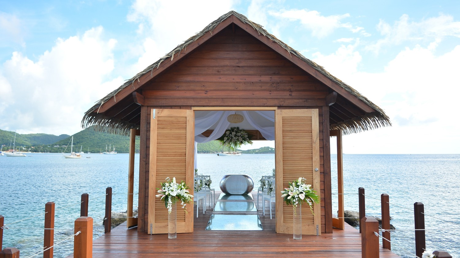 Explore The Beauty Of Caribbean: The First Overwater Wedding Chapel In The Caribbean Is The