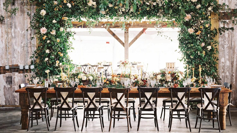 28 Ideas For Sitting Pretty At Your Head Table Martha Stewart Weddings