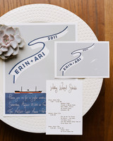 Vintage-Inspired Ship Stationery
