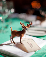 Miniature Deer Figurine