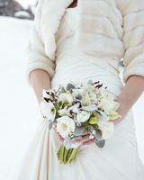 Winter wedding bouquets martha stewart weddings winter wedding bouquets junglespirit Images