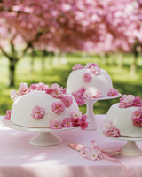 cherry-blossom wedding cakes