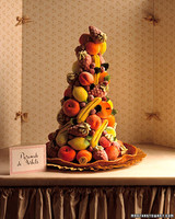 Sorbet Fruit Wedding Cake