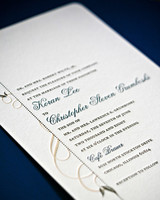 mixed font wedding invitation