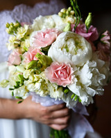 Romantic Peony Wedding Bouquet