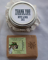 rustic welcome gifts