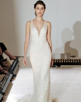 Lazaro Simple Wedding Dress