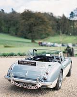 British getaway car