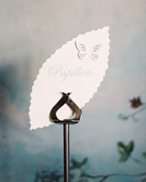 butterfly wedding table number