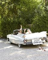 convertible getaway car