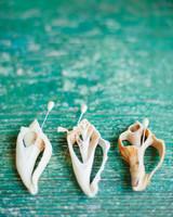Seashell Boutonnieres