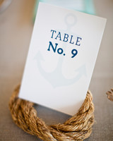 Simple Anchor Table Number