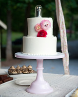 heirloom wedding cake topper