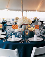Nautical Floral Centerpieces
